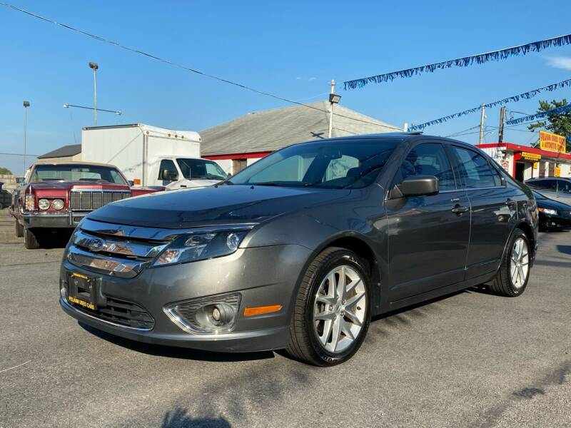2012 Ford Fusion for sale at PELHAM USED CARS & AUTOMOTIVE CENTER in Bronx NY