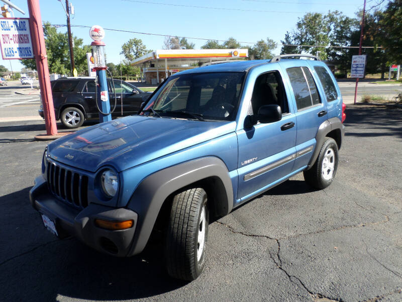 2004 Jeep Liberty for sale at Premier Auto in Wheat Ridge CO