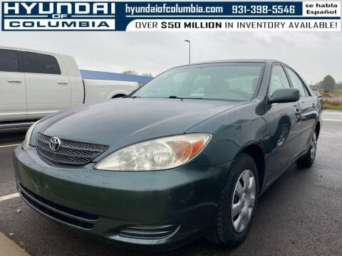 2003 Toyota Camry for sale at Hyundai of Columbia Con Alvaro in Columbia TN