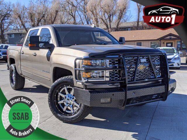 2015 Chevrolet Silverado 1500 for sale at Street Smart Auto Brokers in Colorado Springs CO