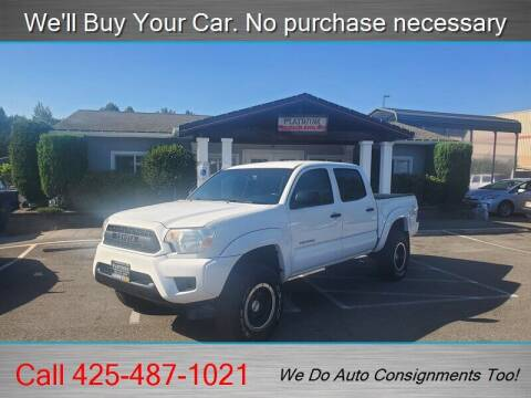2012 Toyota Tacoma for sale at Platinum Autos in Woodinville WA