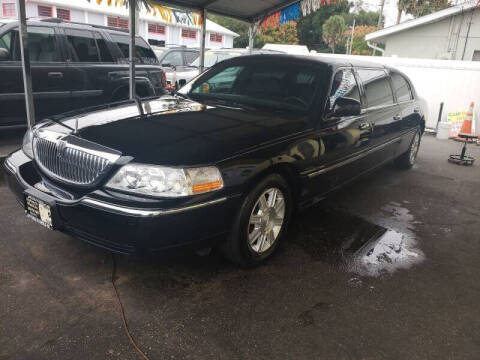 2006 Lincoln MKT Town Car for sale at ANYTHING ON WHEELS INC in Deland FL