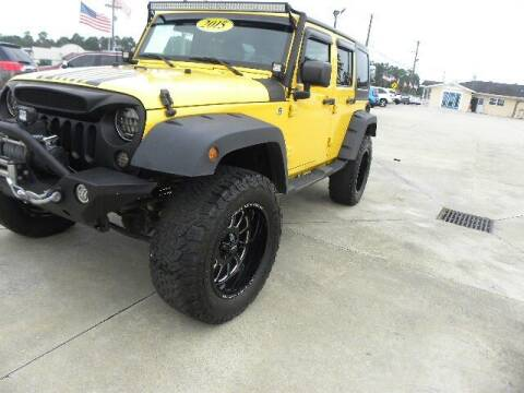 2015 Jeep Wrangler Unlimited for sale at VANN'S AUTO MART in Jesup GA