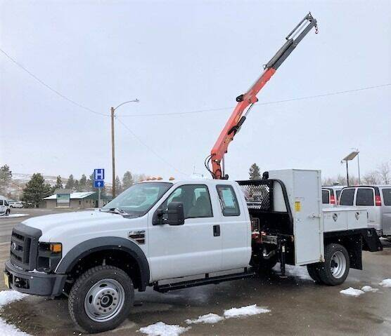 2008 Ford F-550 Super Duty for sale at Central City Auto West in Lewistown MT