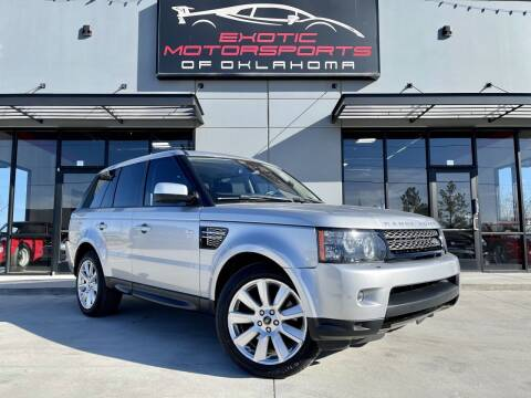 2013 Land Rover Range Rover Sport for sale at Exotic Motorsports of Oklahoma in Edmond OK