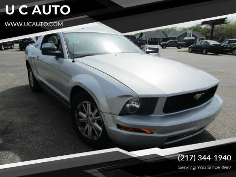 2007 Ford Mustang for sale at U C AUTO in Urbana IL