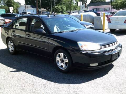 2004 Chevrolet Malibu for sale at Wamsley's Auto Sales in Colonial Heights VA