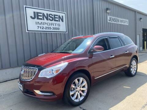 2017 Buick Enclave for sale at Jensen's Dealerships in Sioux City IA