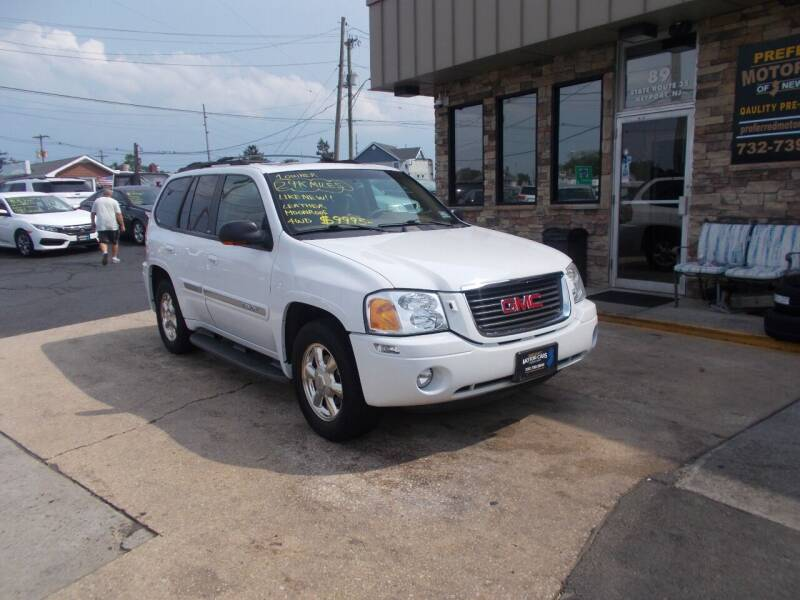 2002 GMC Envoy for sale at Preferred Motor Cars of New Jersey in Keyport NJ