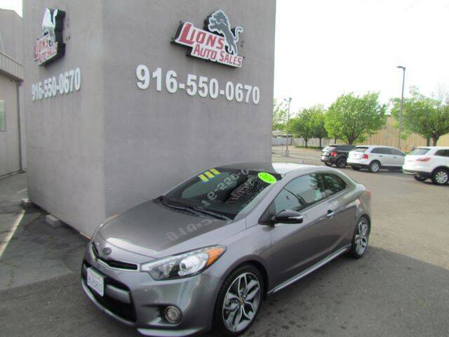 2015 Kia Forte Koup for sale at LIONS AUTO SALES in Sacramento CA