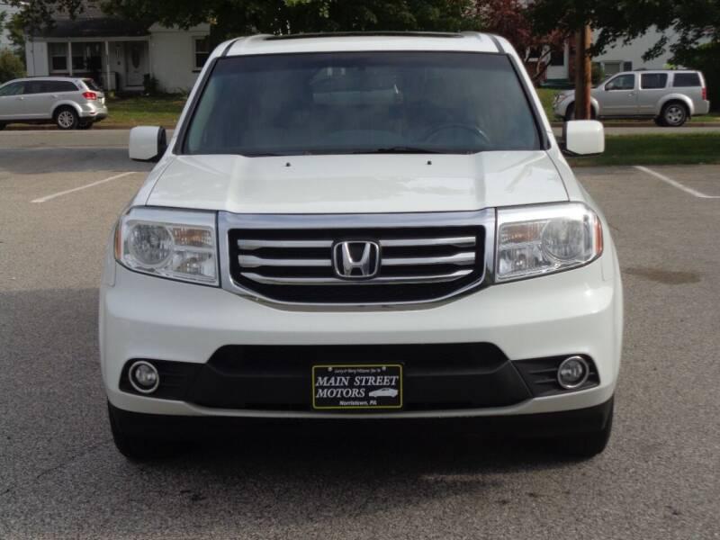 2014 Honda Pilot for sale at MAIN STREET MOTORS in Norristown PA