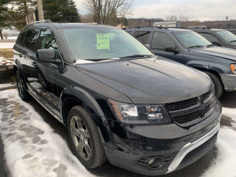2016 Dodge Journey for sale at BURNWORTH AUTO INC in Windber PA