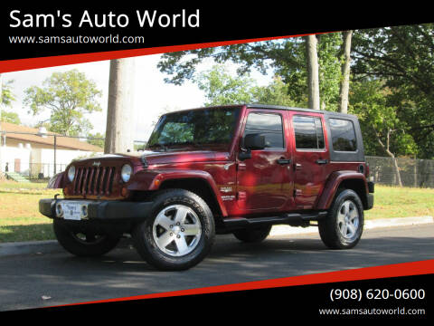 2008 Jeep Wrangler Unlimited for sale at Sam's Auto World in Roselle NJ