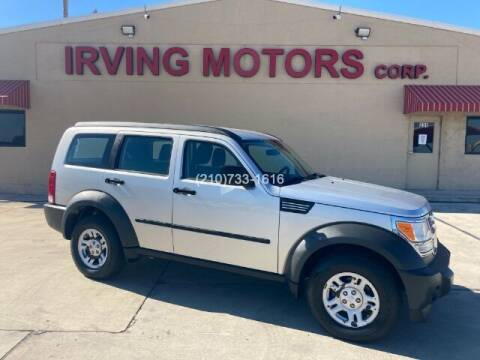 2008 Dodge Nitro for sale at Irving Motors Corp in San Antonio TX
