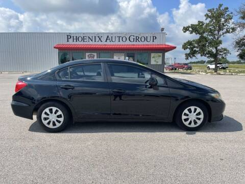 2012 Honda Civic for sale at PHOENIX AUTO GROUP in Belton TX