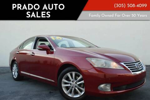 2010 Lexus ES 350 for sale at Prado Auto Sales in Miami FL