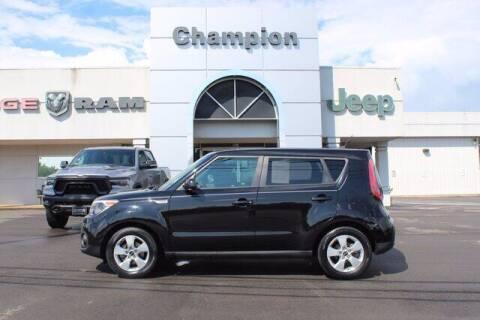 2018 Kia Soul for sale at Champion Chevrolet in Athens AL