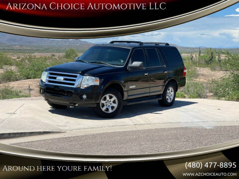 2008 Ford Expedition for sale at Arizona Choice Automotive LLC in Mesa AZ