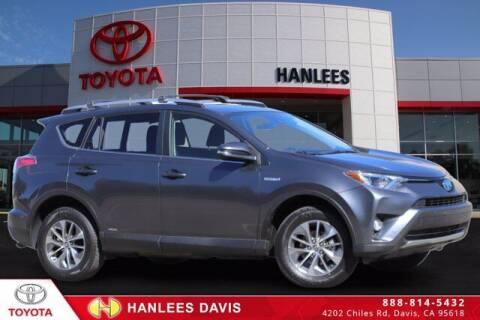 2017 Toyota RAV4 Hybrid for sale at Hanlees Davis Toyota in Davis CA