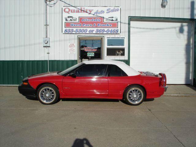 1994 Oldsmobile Cutlass Supreme for sale at Quality Auto Sales in Wayne NE