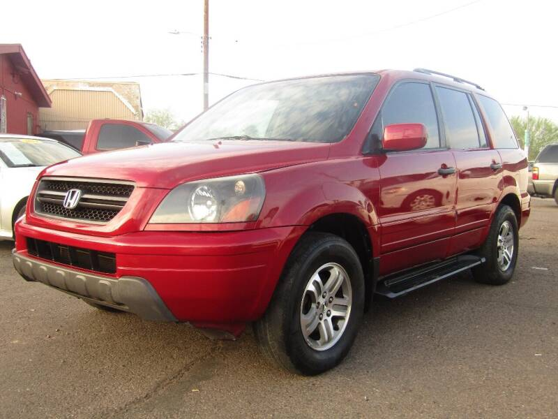 2003 Honda Pilot for sale at More Info Skyline Auto Sales in Phoenix AZ