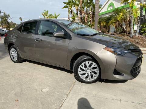 2017 Toyota Corolla for sale at Luxury Auto Lounge in Costa Mesa CA