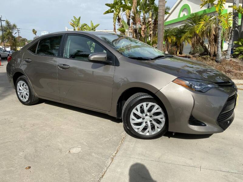 2017 Toyota Corolla for sale at Luxury Auto Lounge in Costa Mesa CA