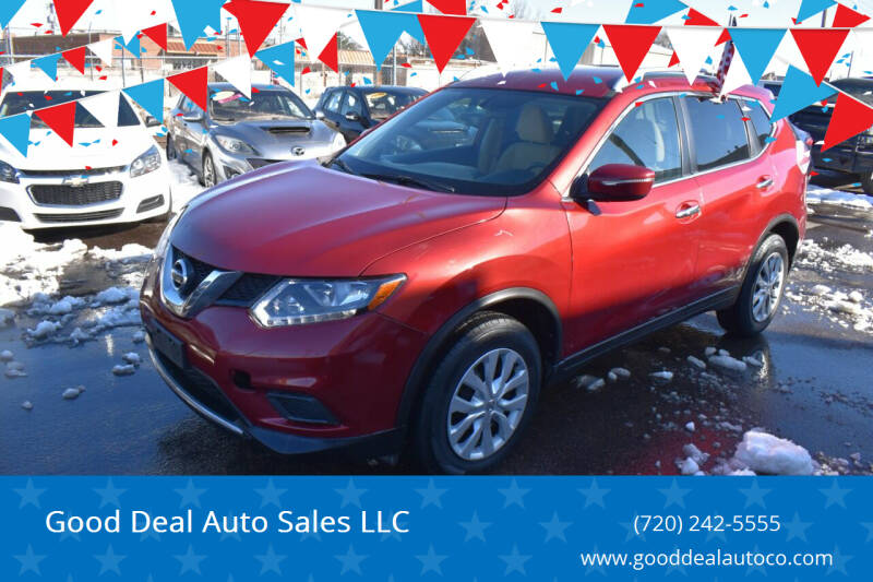 2016 Nissan Rogue for sale at Good Deal Auto Sales LLC in Denver CO
