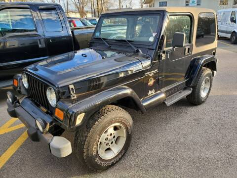 2000 Jeep Wrangler for sale at MX Motors LLC in Ashland MA