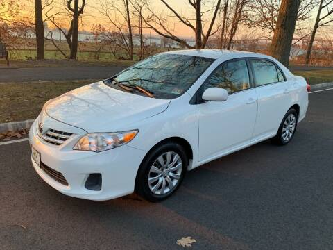 2013 Toyota Corolla for sale at Crazy Cars Auto Sale in Jersey City NJ