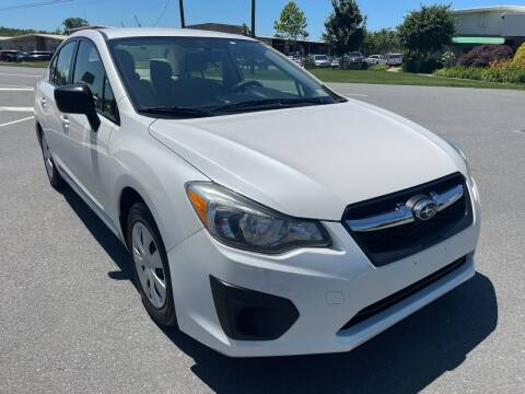 2012 Subaru Impreza for sale at Shell Motors in Chantilly VA