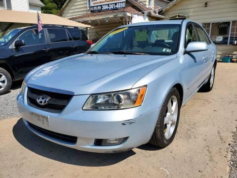 2006 Hyundai Sonata for sale at Auto Town Used Cars in Morgantown WV