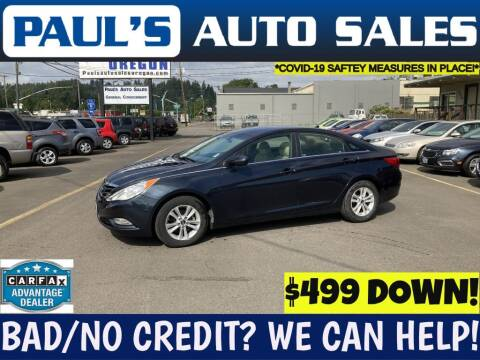 2013 Hyundai Sonata for sale at Paul's Auto Sales in Eugene OR