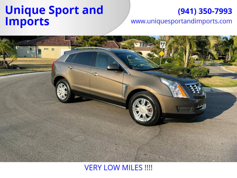2015 Cadillac SRX for sale at Unique Sport and Imports in Sarasota FL