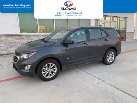 2019 Chevrolet Equinox for sale at DAVID McDAVID HONDA OF IRVING in Irving TX