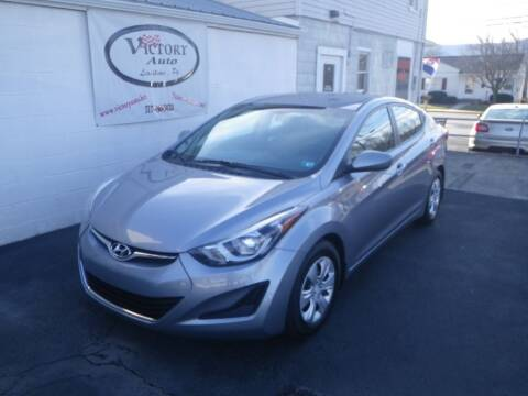 2016 Hyundai Elantra for sale at VICTORY AUTO in Lewistown PA