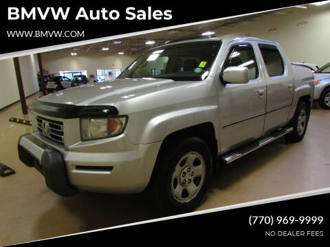 2007 Honda Ridgeline for sale at BMVW Auto Sales - Trucks and Vans in Union City GA