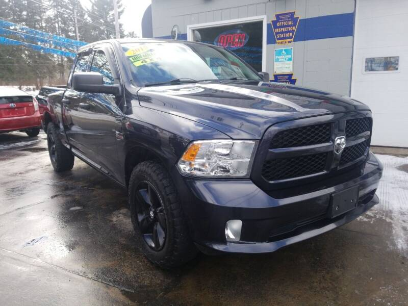 2015 RAM Ram Pickup 1500 for sale at Bizzarro`s Fleetwing Auto Sales in Erie PA