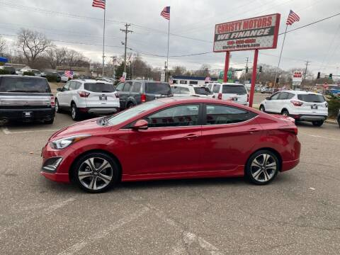 2015 Hyundai Elantra for sale at Christy Motors in Crystal MN