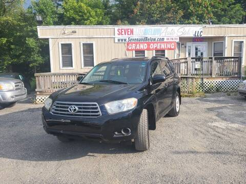 2010 Toyota Highlander for sale at Seven and Below Auto Sales, LLC in Rockville MD