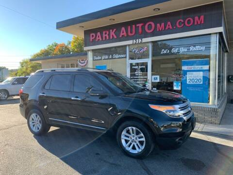 2013 Ford Explorer for sale at Park Auto LLC in Palmer MA