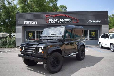 1985 Land Rover Defender for sale at Gulf Coast Exotic Auto in Biloxi MS