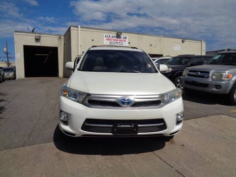 2012 Toyota Highlander Hybrid for sale at ACH AutoHaus in Dallas TX