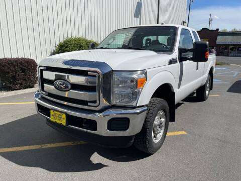 2011 Ford F-250 Super Duty for sale at DAVENPORT MOTOR COMPANY in Davenport WA