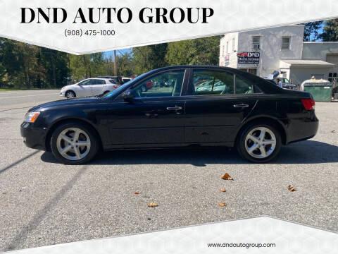 2006 Hyundai Sonata for sale at DND AUTO GROUP in Belvidere NJ