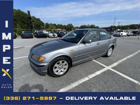 2004 BMW 3 Series for sale at Impex Auto Sales in Greensboro NC