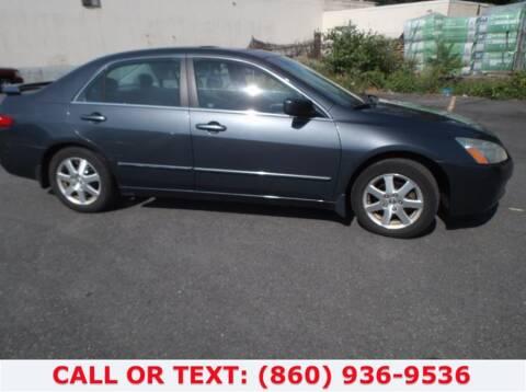2005 Honda Accord for sale at Lee Motor Sales Inc. in Hartford CT
