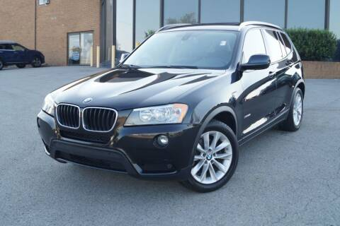 2013 BMW X3 for sale at Next Ride Motors in Nashville TN