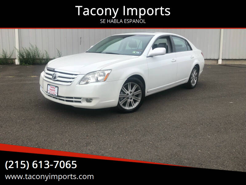 2006 Toyota Avalon for sale at Tacony Imports in Philadelphia PA