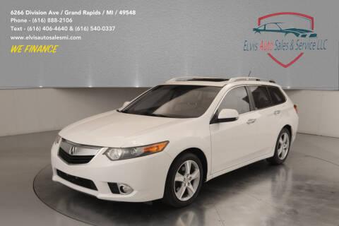2012 Acura TSX Sport Wagon for sale at Elvis Auto Sales LLC in Grand Rapids MI